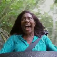 Gloria Maria gritando